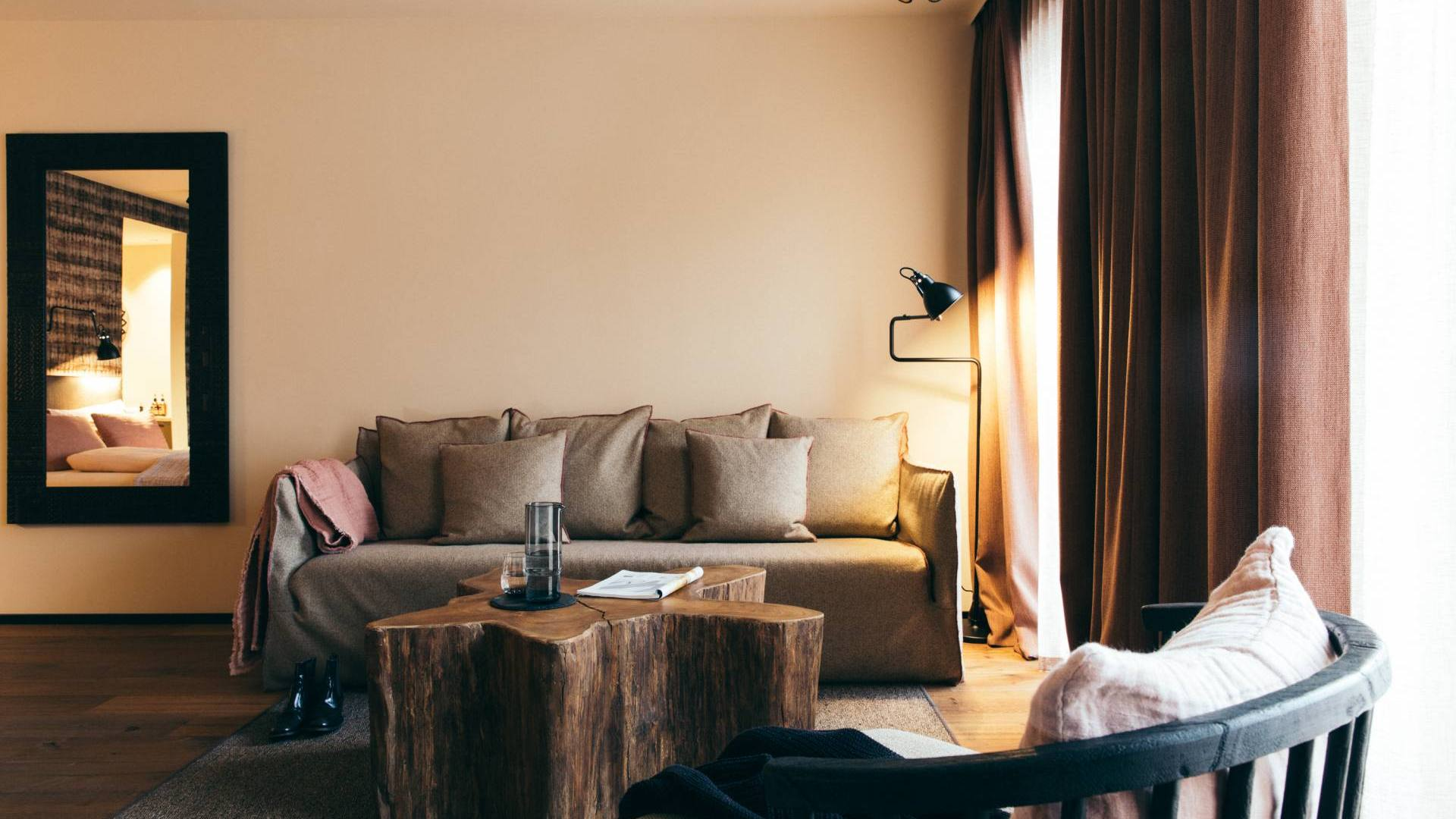 Bronze Suite – DAS RIVUS – Luxus Suiten in Leogang, Österreich