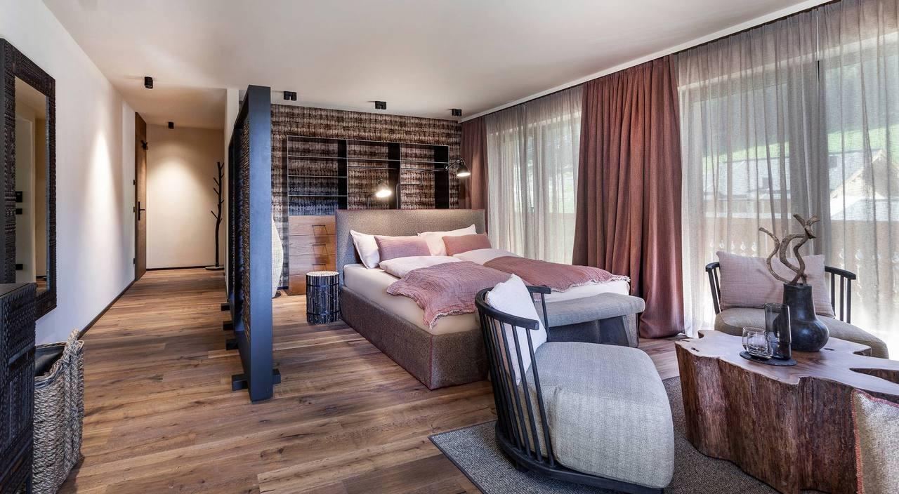 Silber Suite – DAS RIVUS – Wohlfühlhotel in Leogang, Salzburger Land