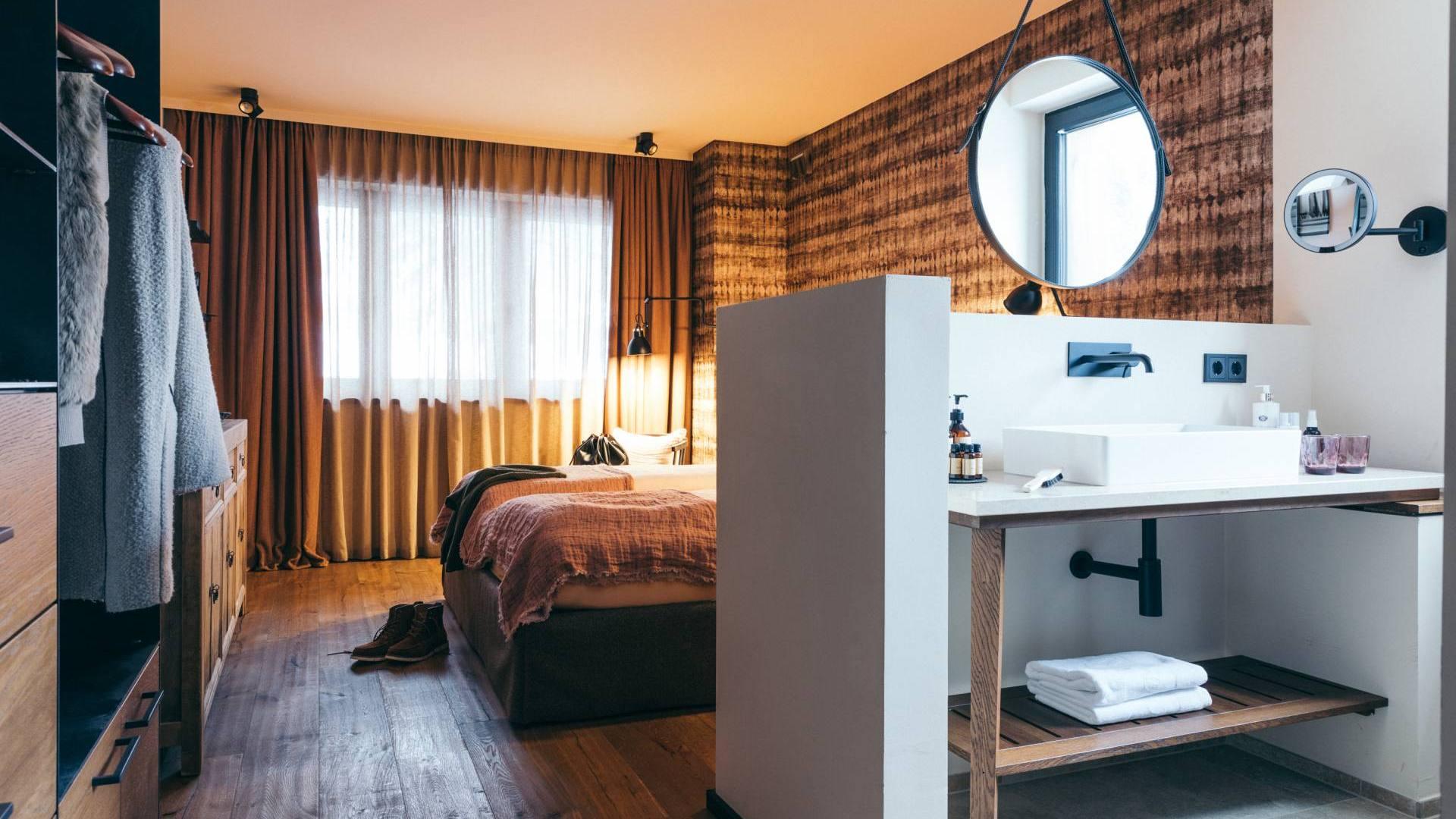 Bronze Zimmer – DAS RIVUS – Boutique Hotel im Salzburger Land